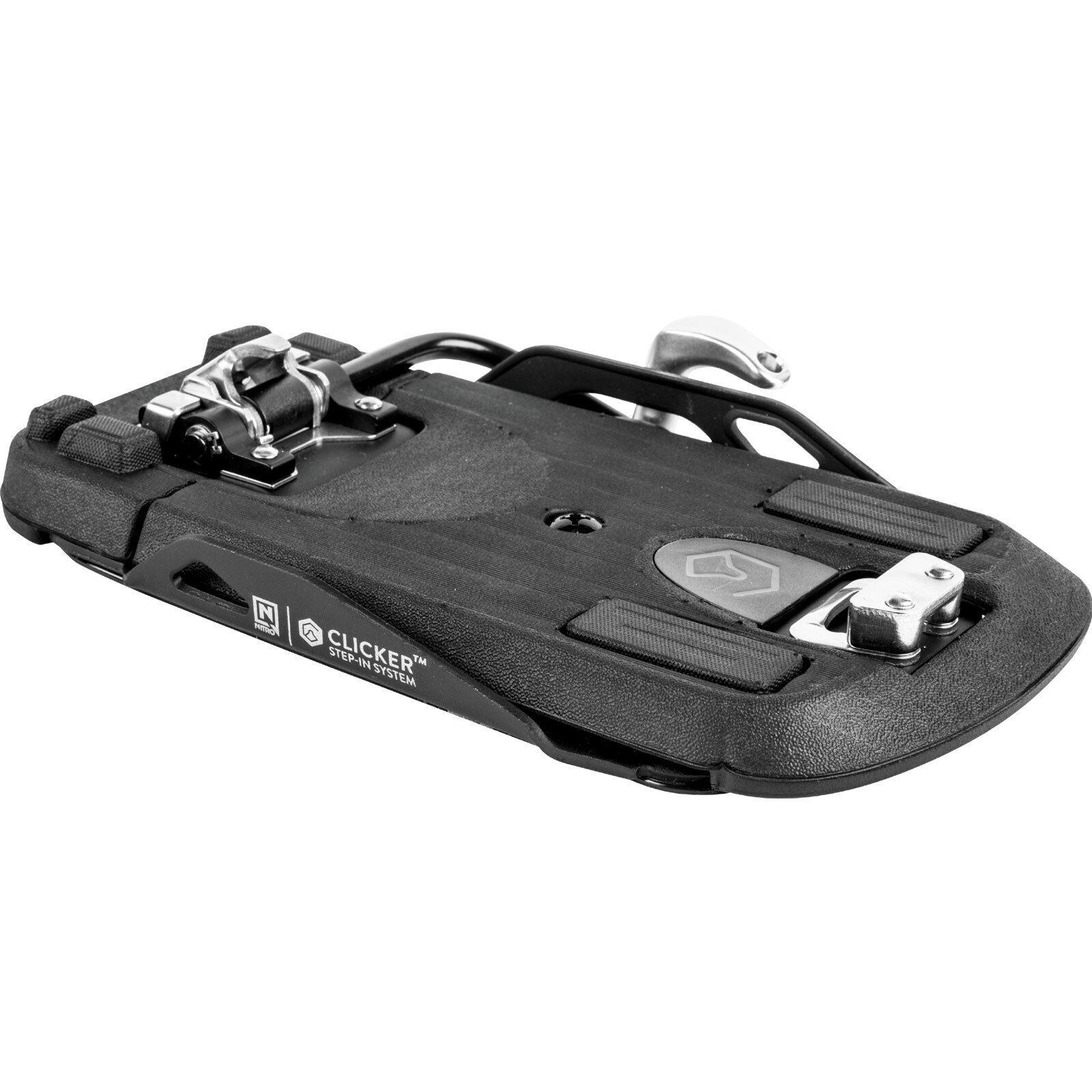 Nitro Clicker Step-In Fijación para para para Snowboard Fijación Snowboard Uni Nuevo 7aa2c9