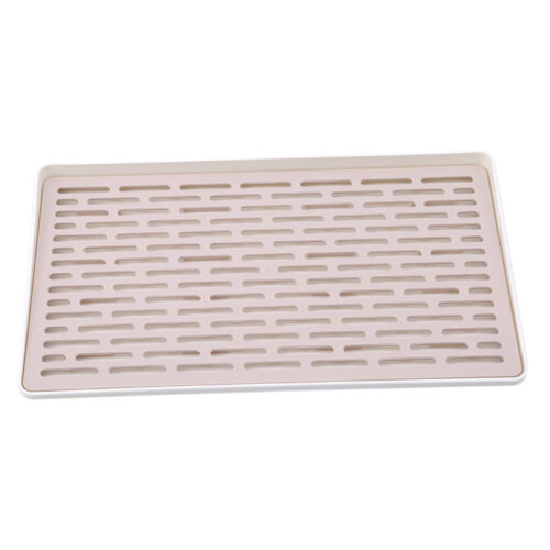 Double Layer Dish Drying Mat Glass Drainer Board Sponge Water Filter Kitchen S