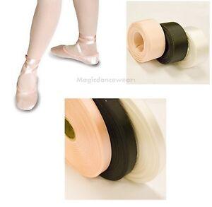 Nuevos zapatos de ballet Cinta De Raso Para Danza Zapato 15mm Zapatillas De Dama De Honor Comunión