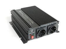 CONVERTIDOR DE VOLTAJE 1000-2000 VATIOS 12V-230V Suave-empiece