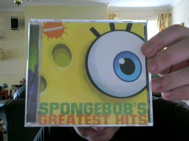 SPONGEBOB GREATEST HITS CD GREAT XMAS GIFT! FREE UK POST