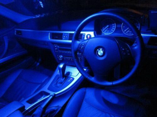 "2 x Blue 31mm LED 6428 DE3175 4-SMD 1.25/"" Dome Map Festoon Interior Light Bulbs"