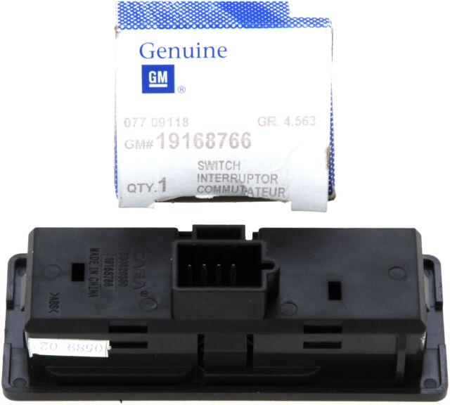 Genuine GM 19168766 Transfer Case Shift Control Switch