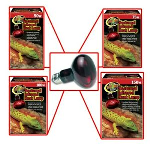 Zoo Med Nocturnal Infrared Heat Bulb Reptile Night Light Available In 4 Sizes Wt Ebay
