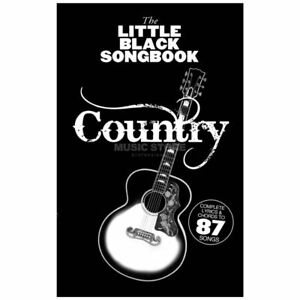 Wise-Publications-The-Little-Black-Songbook-Country