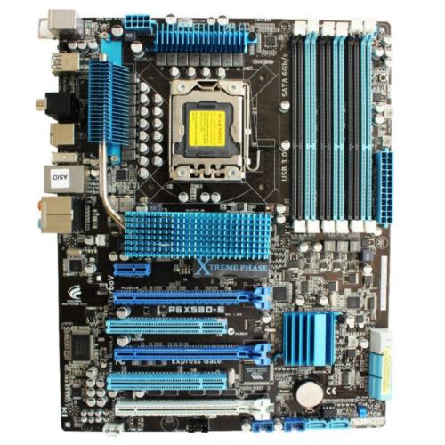 ASUS P6X58D-E REV.1.01G LGA1366 Intel X58 Motherboard DDR3 SATA 6Gb//s Mainboard