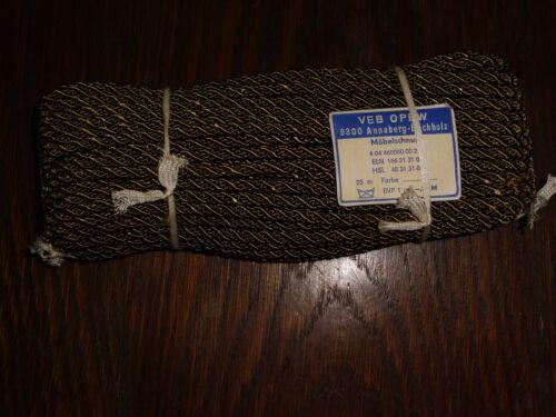 0,40 €//m RDA muebles cuerda verde oscuro//verde oliva 25m VEB opew cordel