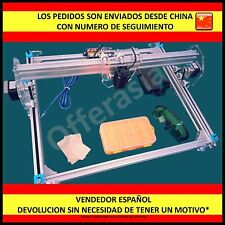 Impresora Laser 1600mW DIY 30x40 Violet Grabador Imagen Engraver Picture Printer