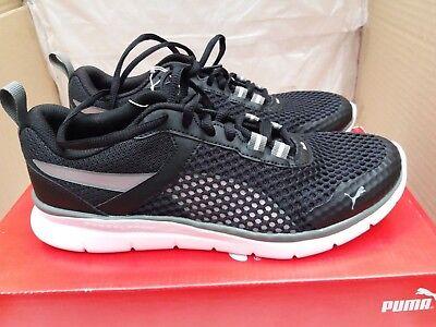 Puma Zapatos Deportivos Flex esencial Pro Negro Metálico Beige UK 4EU 37 | eBay