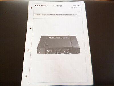 Original Service Manual Blaupunkt Ampliefier Bmx 240 Verschiedene Stile Tv, Video & Audio