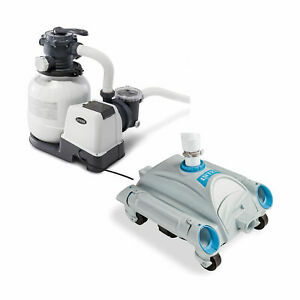 Intex 2100 Gph Above Ground Pool Sand Filter Pump W