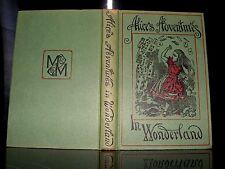 Lewis Carroll - Alice's Adventures In Wonderland, HB, DATED 1965  macmillan