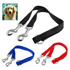 Twin Lead Duplex Double Dog Coupler 2 Way Two Pet Dogs Walking Leash Safety New