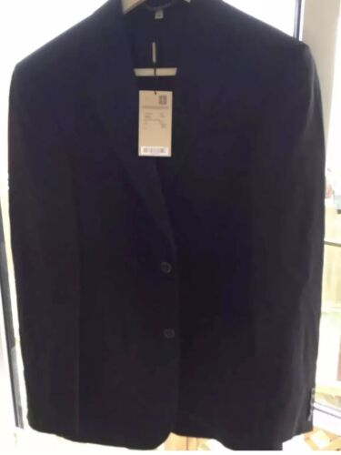 Black Rrp Mens Blazer 650 Burberry 48l Taille xAS6aw4