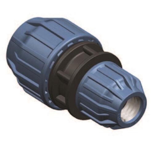 40mm PE Verbinder PP Klemmkupplung DVGW geprüft PE Verschraubung  16mm PN16