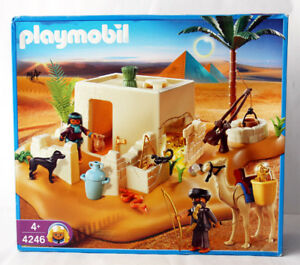 rare 2007 playmobil 4246 egyptian tomb with treasure retired new