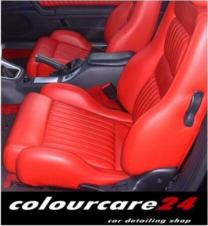 Kit Rigenera Pelle Alfa Romeo Rosso Red Gt Ritocco Tonico interni Spalla Spider
