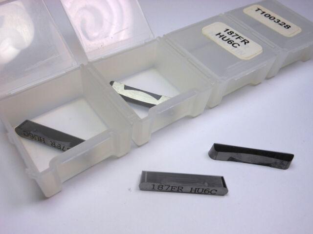 "20 Pcs VIKING Carbide Grooving Inserts 0.250/"" FR HU6C TIN T100342"