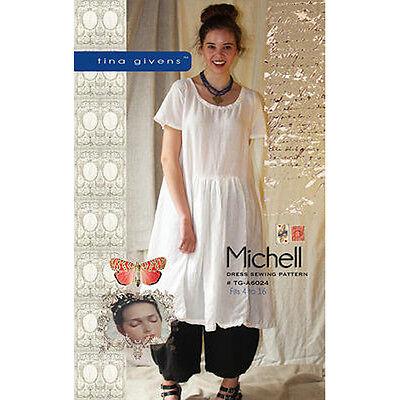 "TINA GIVENS ""MICHELL DRESS"" Sewing Pattern"