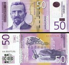 SERBIA - 50 dinar 2011 UNC FDS