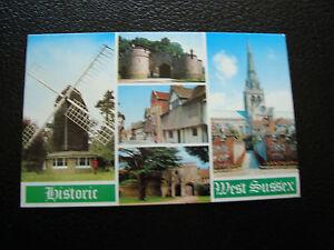 UK-Tarjeta-Postal-Historico-West-Sussex-cy25-United-Kingdom