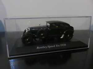 VOITURE-MINIATURE-BENTLEY-SPEED-SIX-DE-1930-IXO-1-43-NEUF