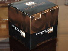 OLYMPUS OM ZUIKO 50mm F1.4 LENS NEW IN BOX LATER MC VERSION