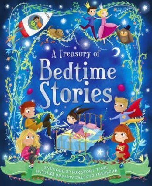 A Treasury of Bedtime Stories (Treasuries 176) by Jenny Jinks, Katie Dale, Accep
