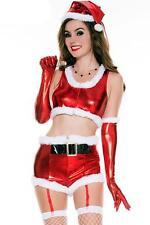 Crossdresser Sissy Hot Santa Babe Costume Complete As Shown