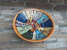 Pastateller Suppenteller Salatteller 26cm Handarbeit Keramik colorido