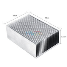 16 Inch Aluminum High Power Bonded Fin Heat Sink Assembly