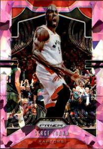 2019-20-Prizm-Pink-Ice-154-Serge-Ibaka-Toronto-Raptors