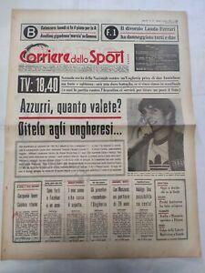 CORRIERE-DELLO-SPORT-6-6-1978-MONDIALI-ARGENTINA-ITALIA-UNGHERIA-PAOLO-ROSSI