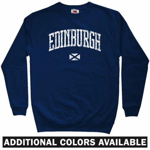 Hibernian FC Rugby Hearts Crewneck Edinburgh Scotland Sweatshirt Men S-3XL