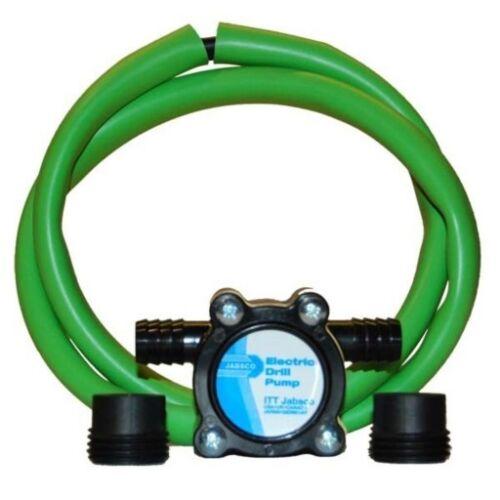 Jabsco Drill Pump w// Dipstick Tube Oil Change