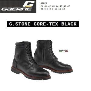 Stivali-CAFE-039-RACER-moto-GAERNE-G-STONE-GORE-TEX-black-nero-2439001