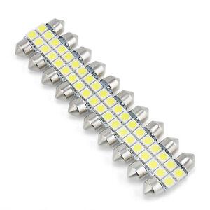 10PCS-31mm-4-LED-5050-SMD-Festoon-Dome-Car-White-Light-Interior-Lamp-Bulb-12V