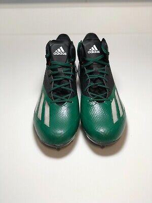 Adidas adizero 5 Star 5.0 MID Football Cleats Green Men's Size 10.5 AQ8805 | eBay