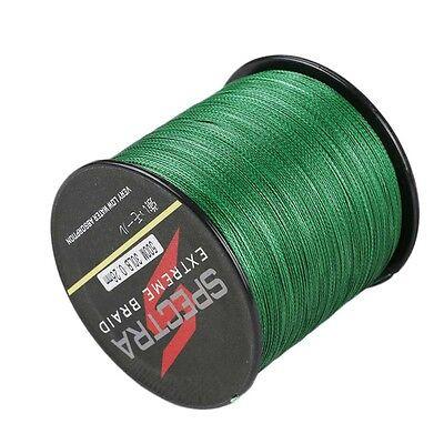 100M 500M Moss Green Agepoch 100%PE Dyneema Spectra  Braided Fishing Line MG New