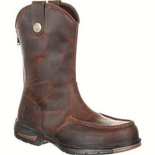 Georgia Boot Athens Pull-On Work Boot GB00226 Men's Size  10 NEW  Free Shipping