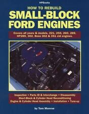 How to Rebuild Small-Block Ford Engines by Tom Monroe, (Paperback) Book