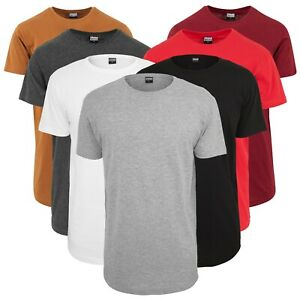 Urban Classics Herren T-Shirt Shaped Long Tee extra lang oversize Shirt TB638