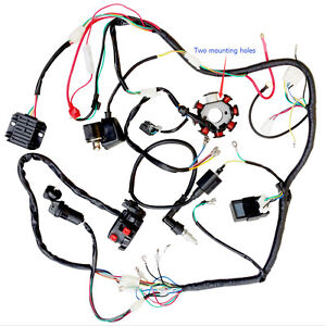 complete electrics atv quad 200cc 250cc cdi wire harness zongshen image is loading complete electrics atv quad 200cc 250cc cdi wire