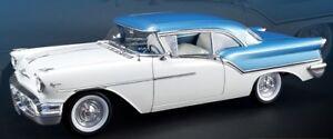 1957-Oldsmobile-Blue-white-1-18-Acme-1808003