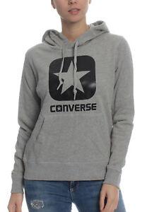 d6c3035f81c3 Converse Women s Sweater Graphic Boxstar Jumper Hoodie 10006631 035 ...