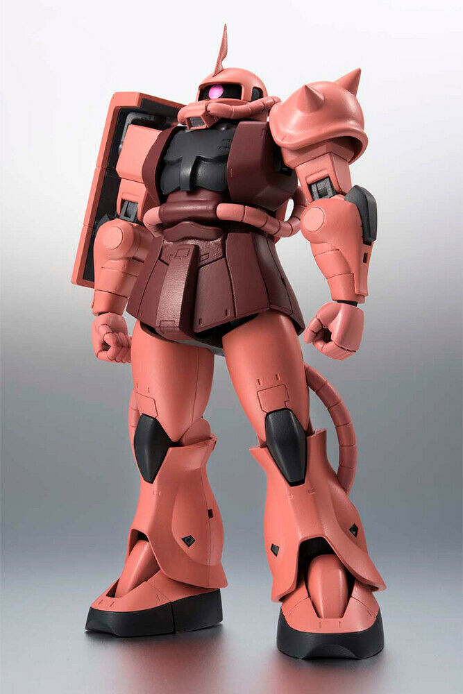 MS-06S  Char Aznable's Zaku II ANIME Ver Robot Spirits Side MS R193 azione cifra  vendite calde