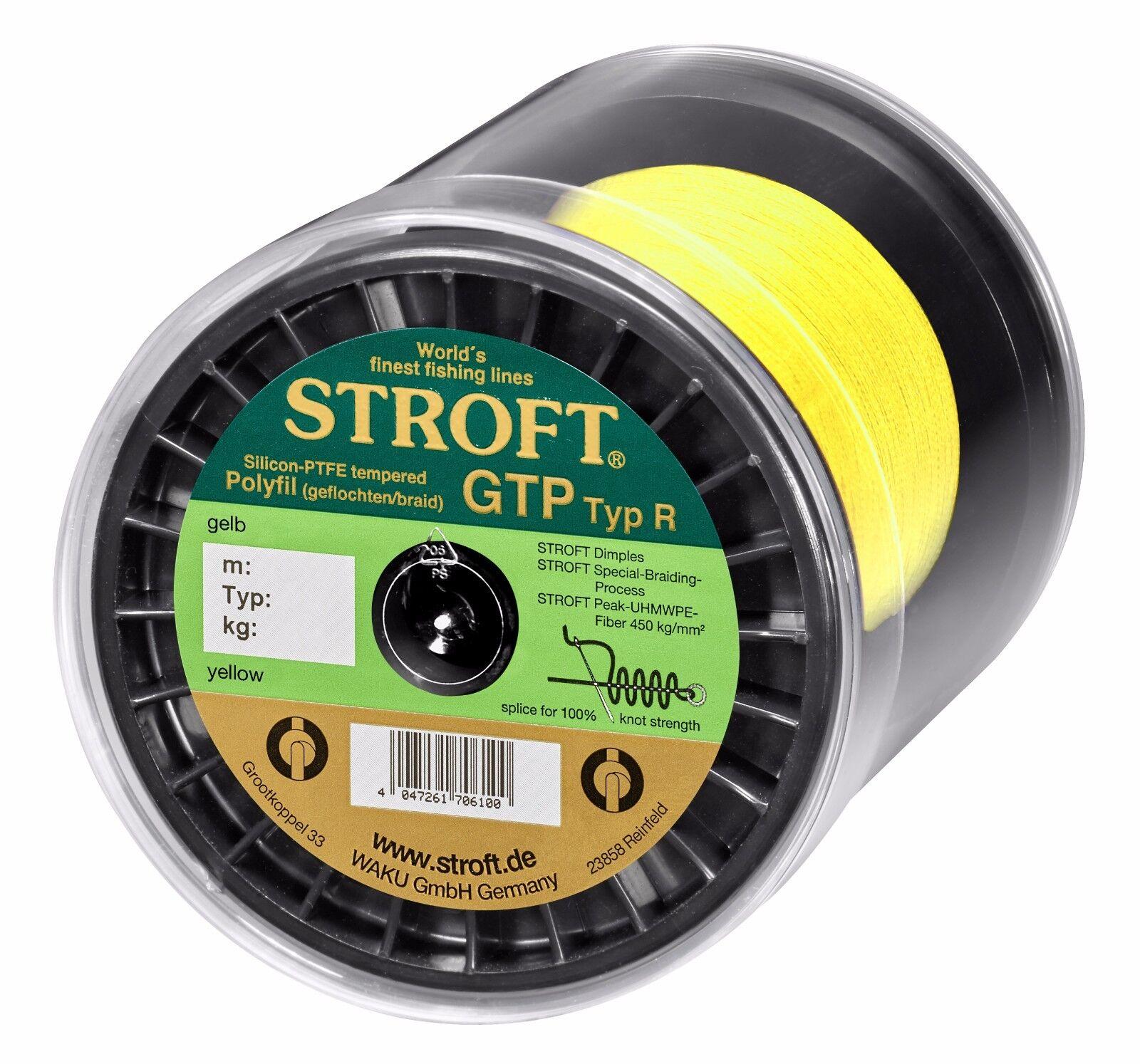 Lenza stroft GTP tipo R GItuttiO 100m 250m 500m 1000m Intrecciato Corda