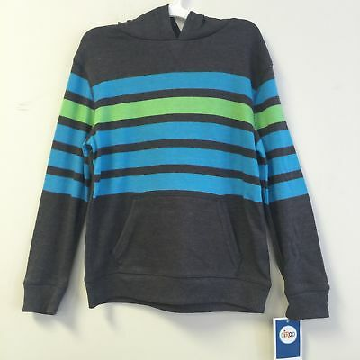 NEW Circo Boy/'s Knit Color Block Hoodie Pullover Sweatshirt Orange//Blue