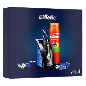 Gillette Styler Multiusos + Gel De Afeitado Gillette Fusion 5 + 3Peines