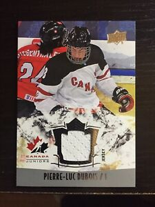 2015-16 Upper Deck Team Canada Juniors Pierre-Luc Dubois ...